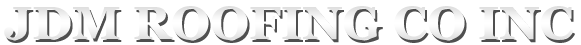 JDM Roofing Logo