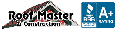 Roof Master & Construction Logo