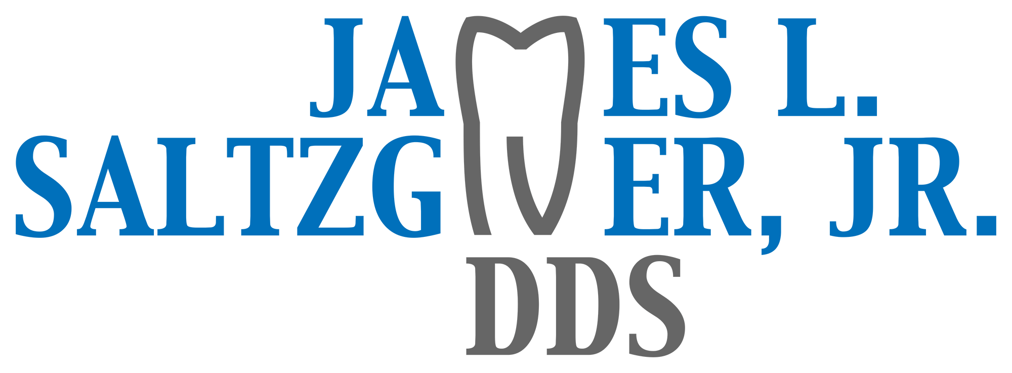 James L. Saltzgiver, Jr. DDS Logo