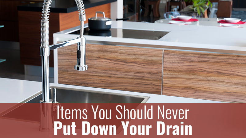 Items You Should Never Put Down Your Drain