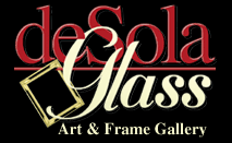DeSola Glass, Art & Frame Gallery Logo