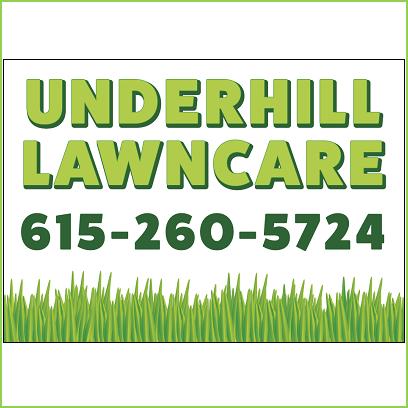 Underhill Lawn Care Logo