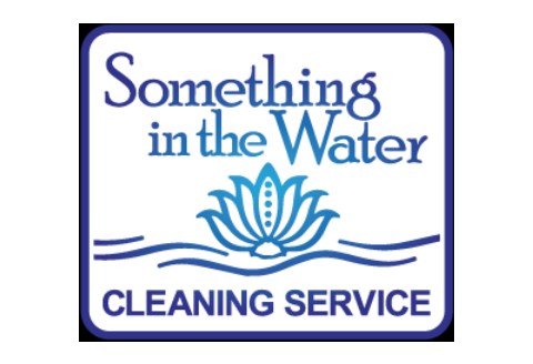 Something in the Water Cleaning Service Logo