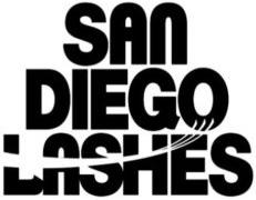 San Diego Lashes Logo