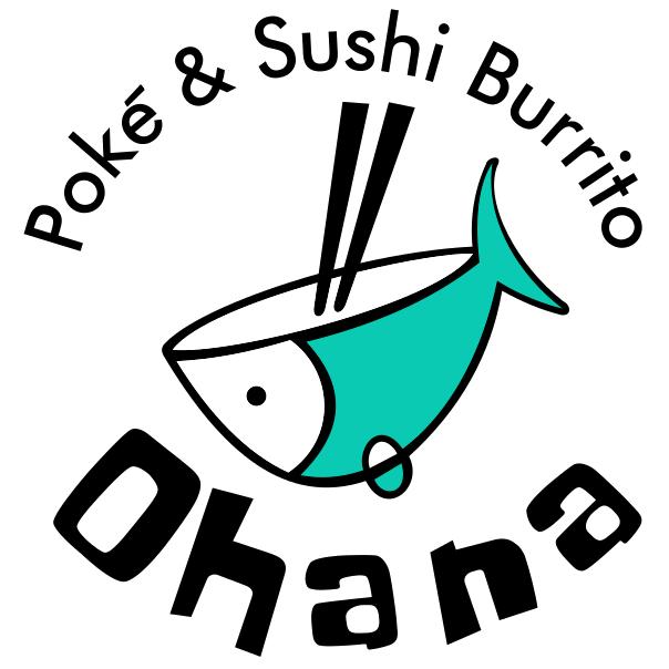 Ohana Poke & Sushi Burrito Logo