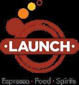 Launch Espresso Food Spirits Logo