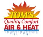 Tom's Quality Comfort Air & Heat Logo
