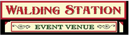 Walding Station Event Venue Logo