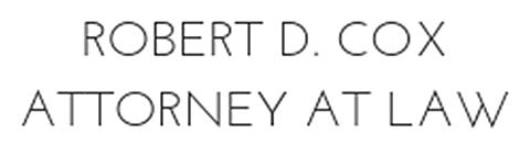 Robert D. Cox - Attorney at Law Logo