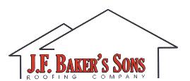 J.F. Baker's Sons Roofing Logo