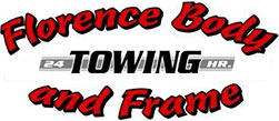 Florence Body, Frame & Towing Logo