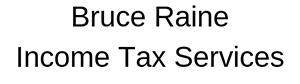 Bruce Raine Income Tax Services Logo
