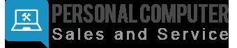 Personal Computer Sales & Service Logo