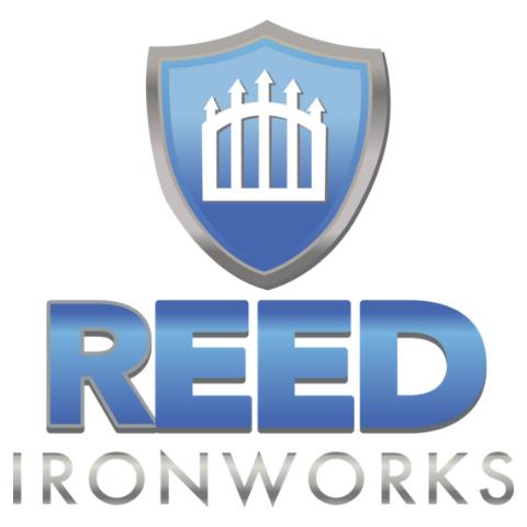 Reed Ironworks Iron Gates & Fence Company Logo