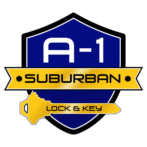 A-1 Suburban Lock & Key Logo