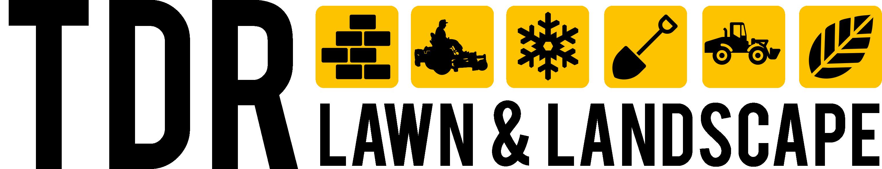 TDR Lawn & Landscape Logo