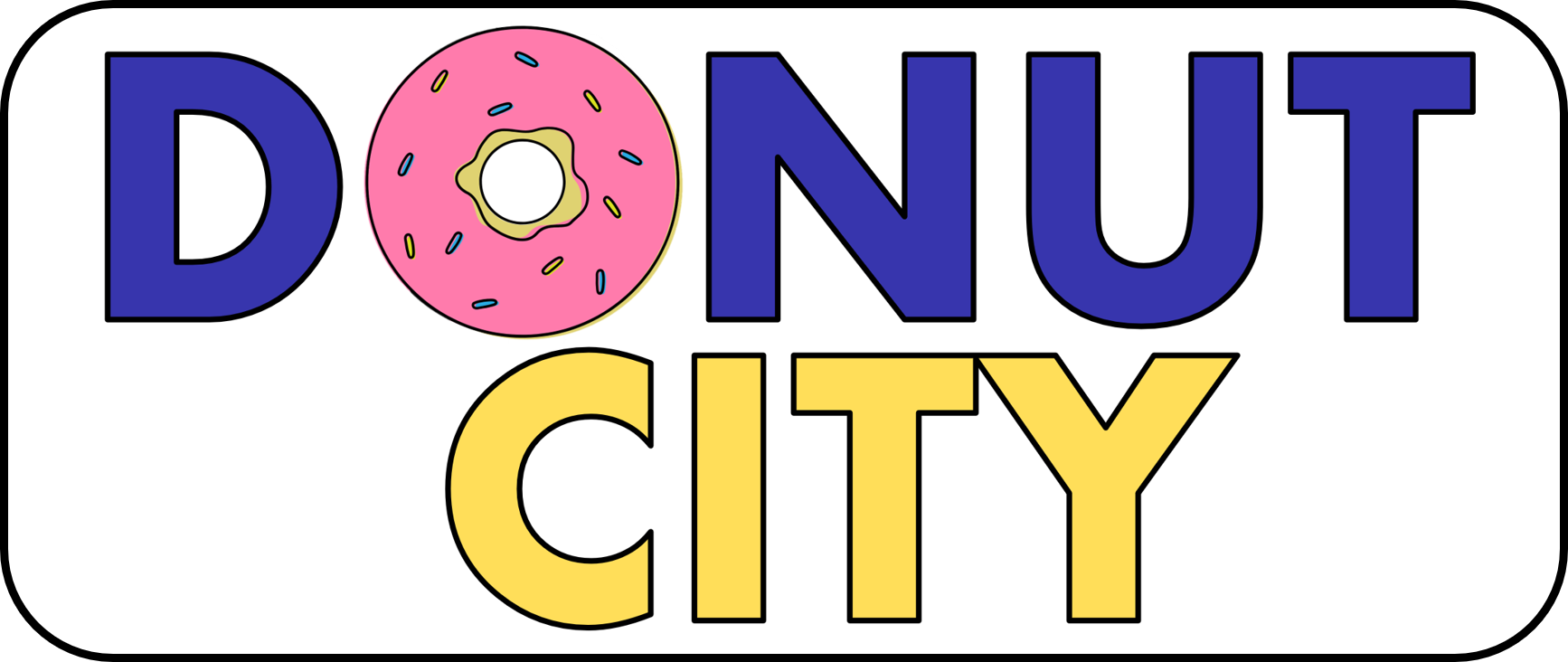 Donut City Logo