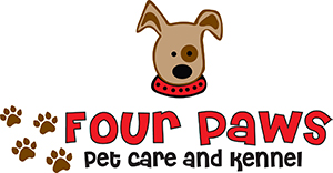 Four Paws Pet Care and Kennel Logo