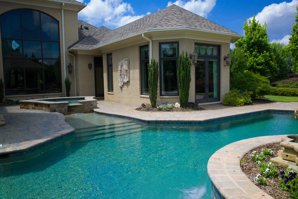 Swimming Pool Contractor Simpsonville Sc Swimming Pool