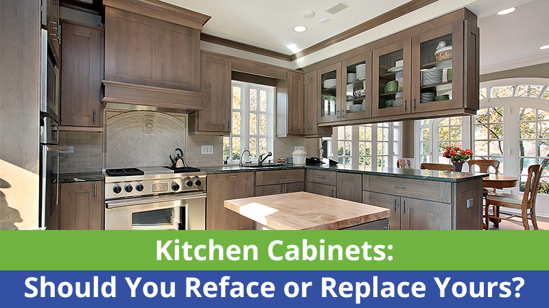 Kitchen Cabinets: Should You Reface or Replace Yours ...