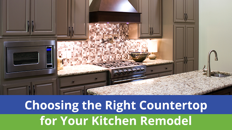 Choosing the Right Countertop for Your Kitchen Remodel