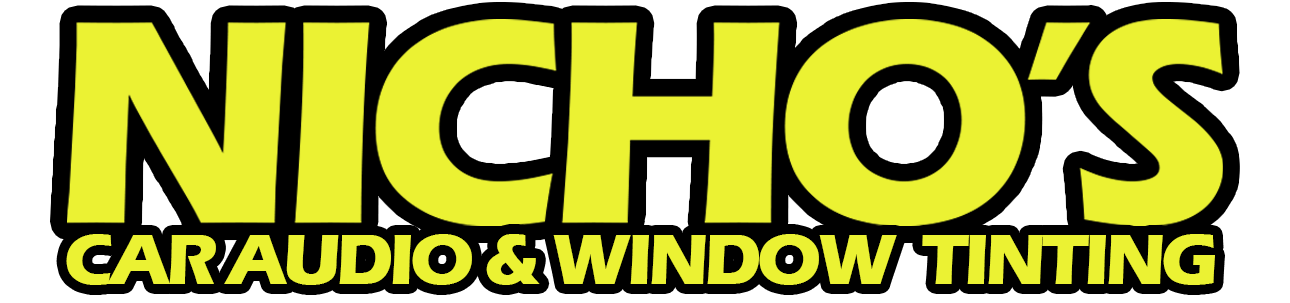 Nicho's Car Audio and Window Tinting Logo