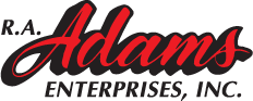 R.A. Adams Enterprises, Inc. Logo