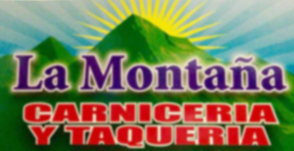La Montaña Carniceria y Taqueria Logo