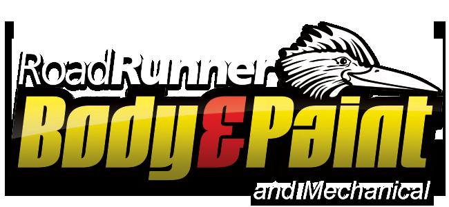 Roadrunner Paint, Body & Auto Repair Logo