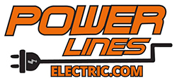Power Lines Electric Logo