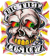 BIG TIME CUSTOMZ TATTOO Logo
