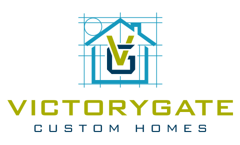 VictoryGate Custom Homes Logo