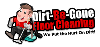 Dirt Be Gone Floor Cleaning Logo