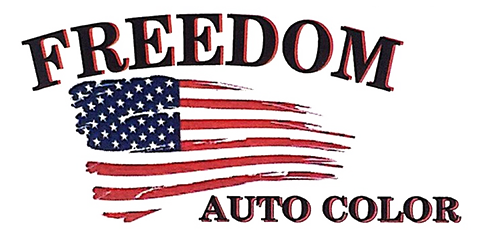 Freedom Auto Color Paint & Body Center Logo