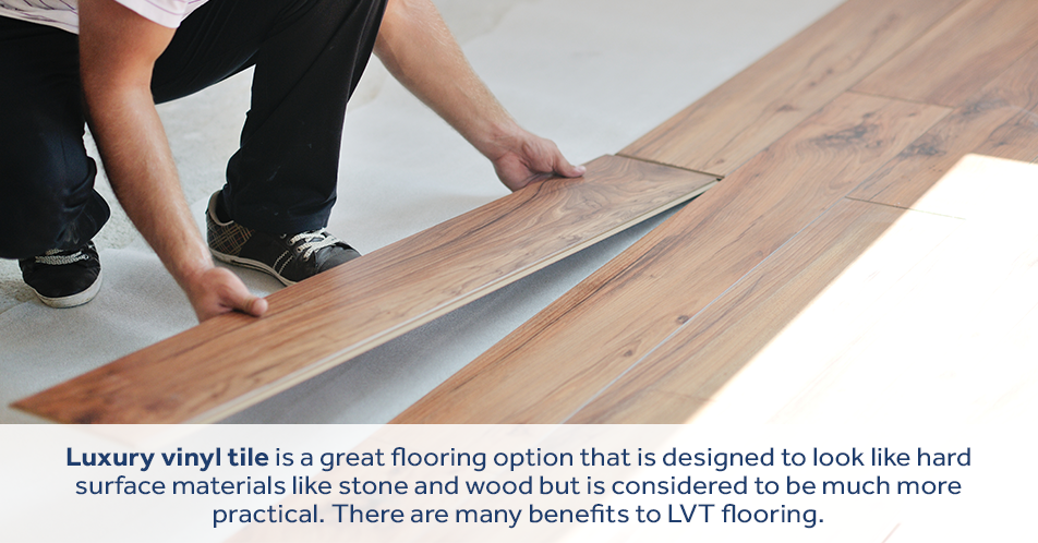 Laminate flooring is an alternative to wood and engineered wood in a bathroom. Laminate flooring mimics the look of wood, without having any real wood involved. This helps the floor withstand moisture and humidity far better than wood-based products.