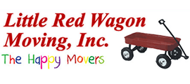 Little Red Wagon Moving Logo