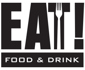 EAT! Food & Drink Logo