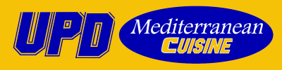UPD Mediterranean Cuisine Logo