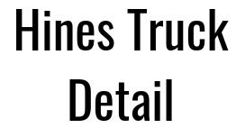 Hines Truck Detail Logo