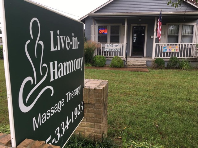 Massage Therapy White House TN | Massage Therapy Near Me | Live In
