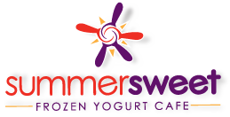 SummerSweet Frozen Yogurt Cafe Logo