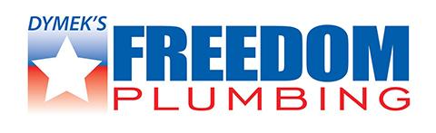 Dymek's Freedom Plumbing Logo