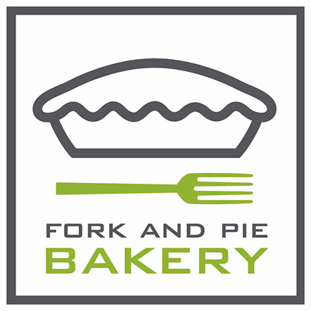 Fork and Pie Bakery Logo