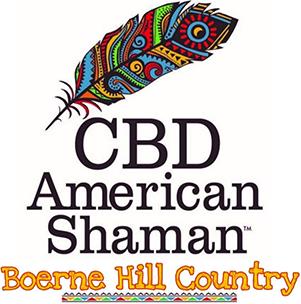CBD American Shaman Boerne Hill Country Logo