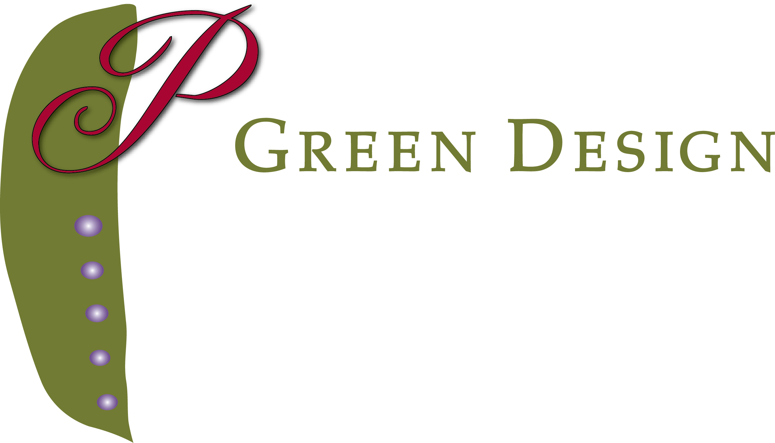 P Green Design Logo