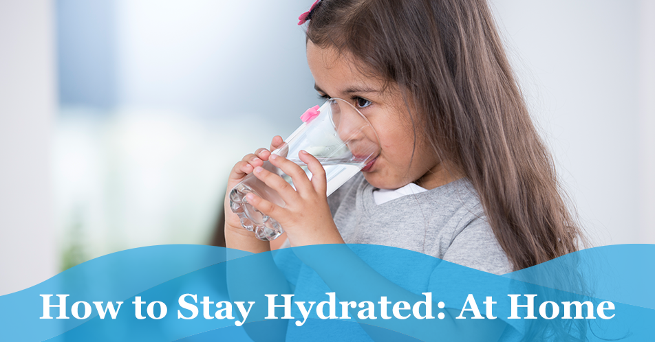 How to Stay Hydrated: At Home