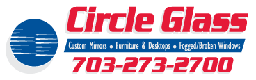 Circle Glass and Mirror Logo