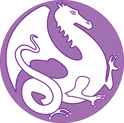Lavender Dragon Team Logo