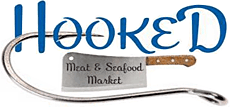 Hooked Meat & Seafood Market Logo