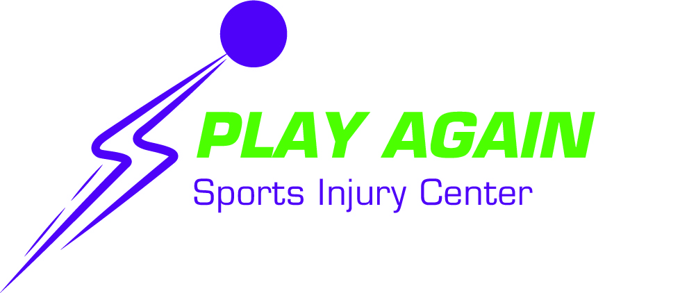 Play Again Sports Injury Center Logo